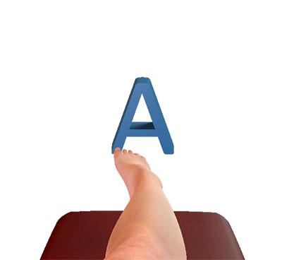 Ankle alphabet